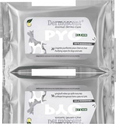Dermoscent PYOclean Lingettes purifiantes pour infections cutanées localisées