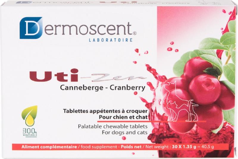 Dermoscent Uti-Zen Aliment complémentaire pour le bien-être urinaire