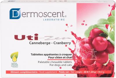 Dermoscent® Uti-Zen® Aliment complémentaire pour le bien-être urinaire