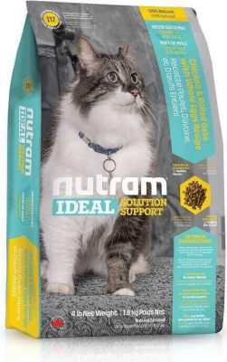 Nutram Ideal Solution Support Indoor Shedding Natural Cat Food
