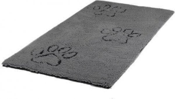 Dirty Dog Doormat - Grey