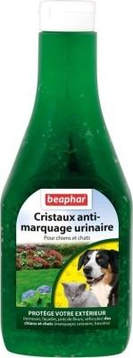 Cristaux répulsifs anti-marquages urinaires pour chien et chat
