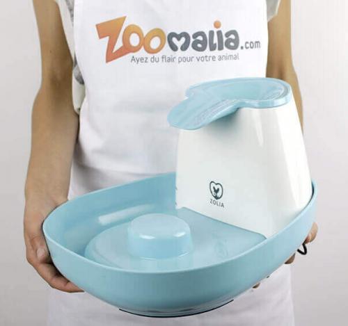 Fontaine à eau pour chat ZOLIA Bloomy_3