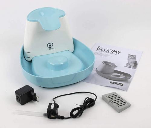 Fontaine à eau pour chat ZOLIA Bloomy_1