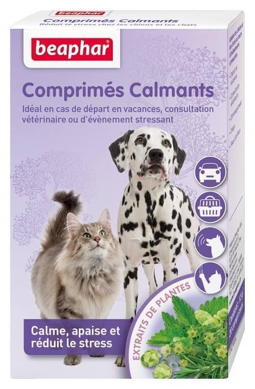 Comprimés calmants pour chien et chat_1