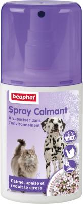 Spray calmante da vaporizzare, riduce lo stress del cane e del gatto