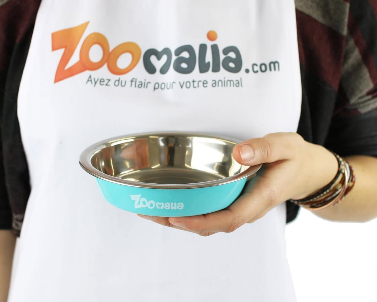Ecuelle inox coloré Zoomalia_1