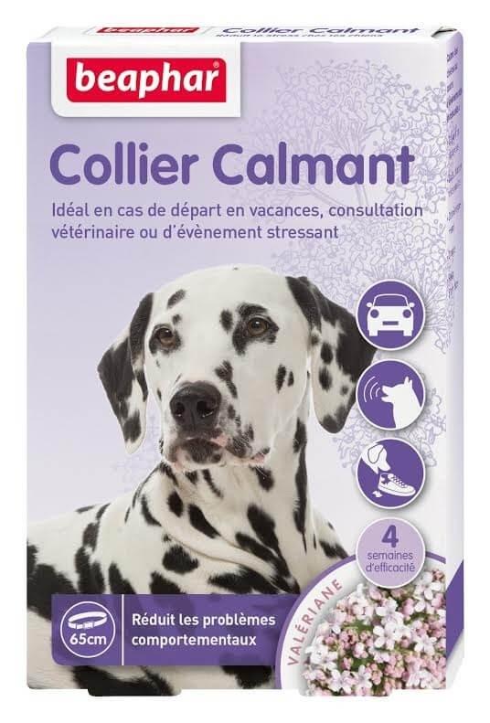 collier calmant pour chien anti stress pour chien. Black Bedroom Furniture Sets. Home Design Ideas