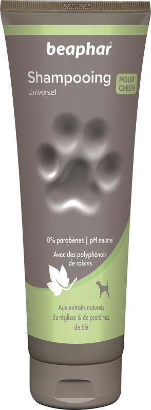 Shampoing Premium doux tous pelages aux extraits de réglisse et de protéines de blé
