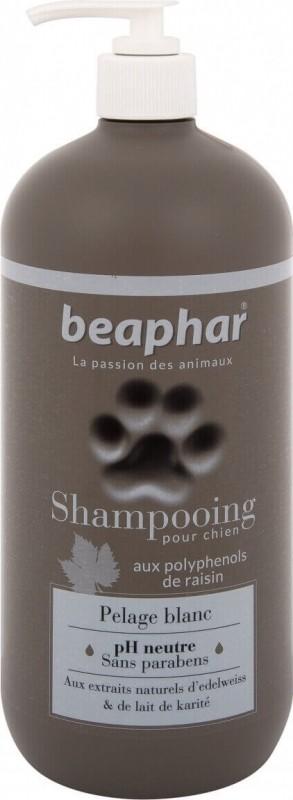 Shampoing Premium pelage blanc à l'extrait d'edelweiss et au lait de karité