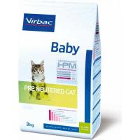 Veterinary HPM baby pre neutered cat