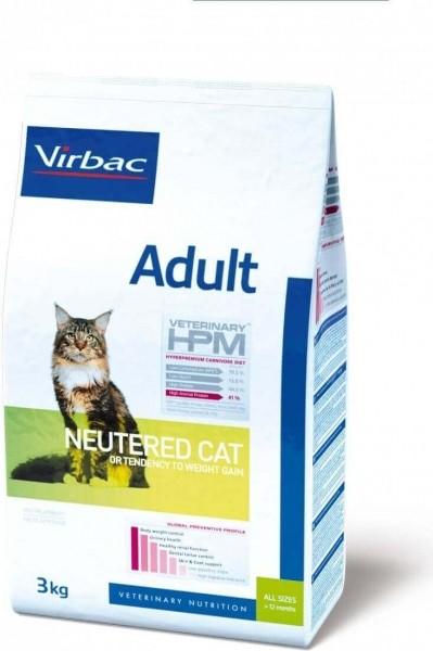 VIRBAC Veterinary HPM Adult Neutered pour chat adulte stérilisé