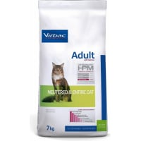 Virbac Veterinary HPM adult au saumon pour chat adulte