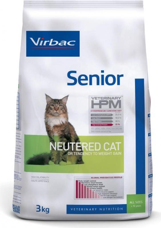 VIRBAC Veterinary HPM Senior Neutered Cat