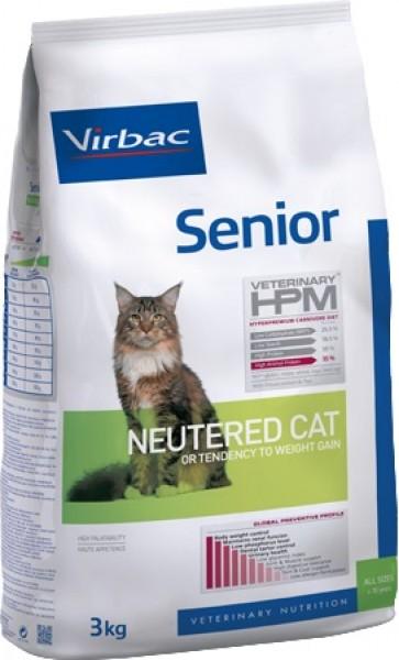 VIRBAC Veterinary HPM Senior Neutered pour chat senior stérilisé