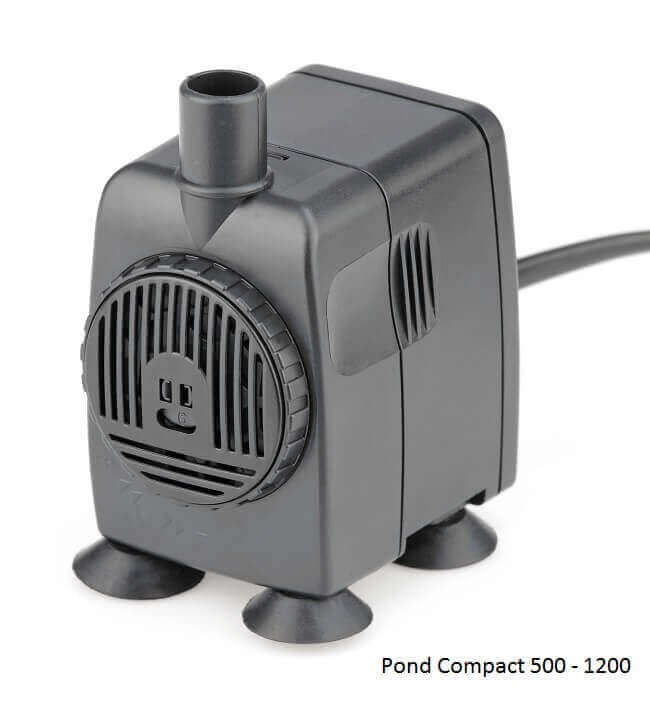 Pompe Pontec Pondo Compact Pour Fontaine Intrieure Et Extrieure