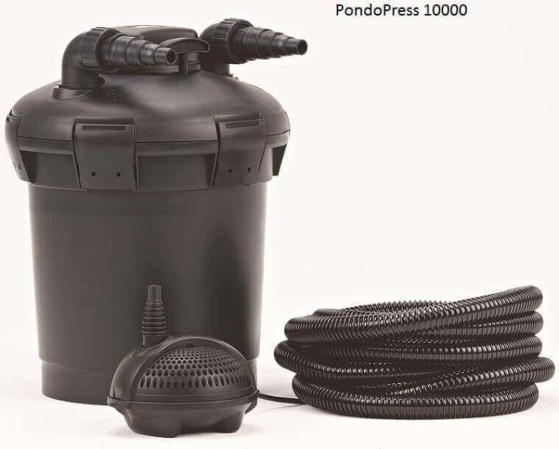 PondoPress set con UVC integrado