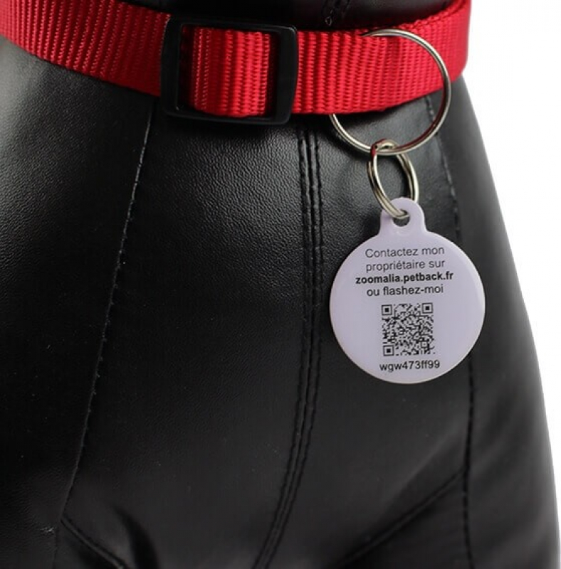 Zoomalia QR Code Dog Tag by PetBack™