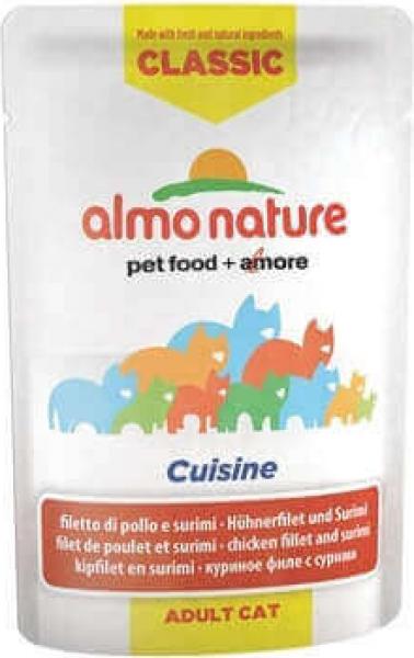 Paté ALMO NATURE HFC Classic Cuisine para gato y gatito - 6 sabores a elegir