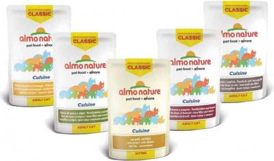Pâtée ALMO NATURE HFC Classic Cuisine pour Chat & Chaton - 6 saveurs au choix