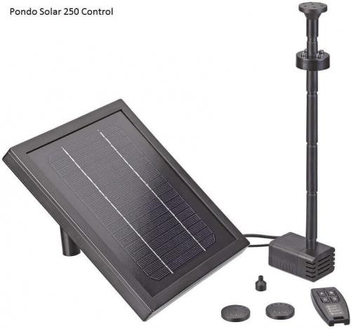 Fontaine solaire pour bassin pontec pondo solar fontaine - Fontaine solaire pour bassin ...
