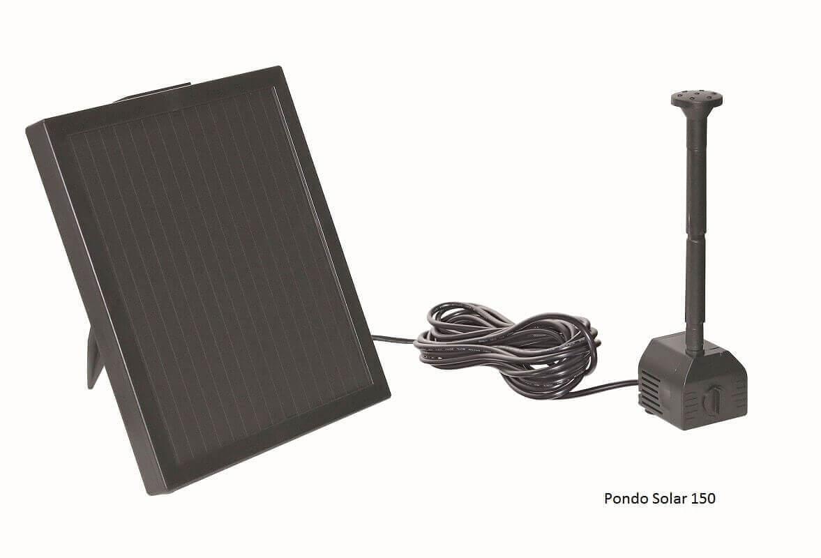 fontaine solaire pour bassin pontec pondo solar fontaine et d coration. Black Bedroom Furniture Sets. Home Design Ideas