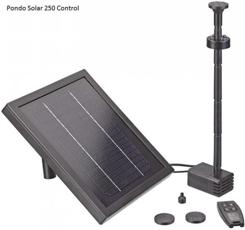 Pontec PondoSolar Wasserspiel-Solar-Set für attraktive Fontänen
