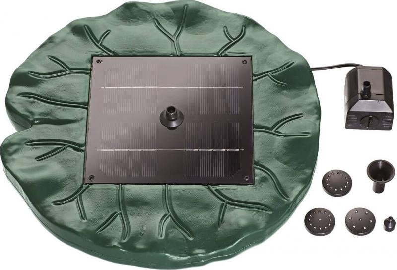 Fuente solar flotante PONTEC Pondo Solar Lily Island