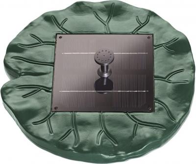 Fontaine solaire flottante PONTEC Pondo Solar Lily Island