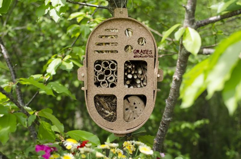 L'Hotel per gli insetti da montare Gasco - 100% sughero riciclato