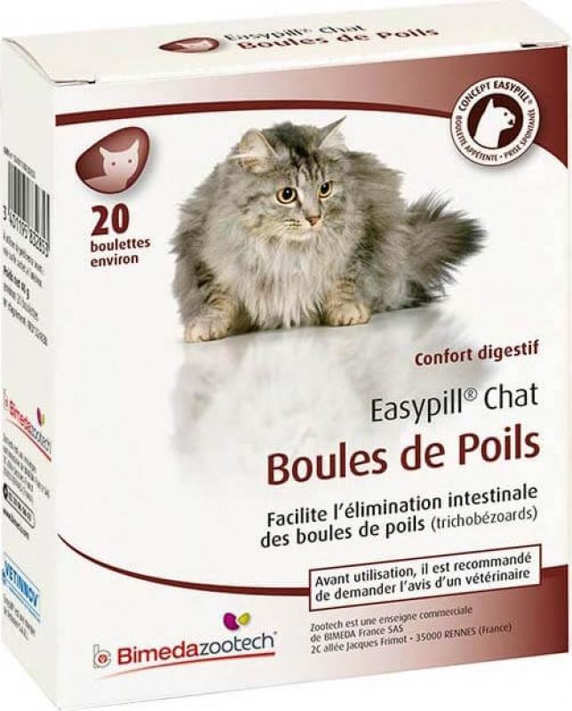 EASYPILL bolas de pêlo gato