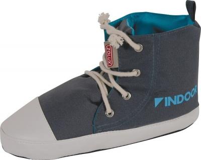Basket Indoor rongeurs bleue grise