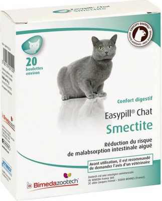 EASYPILL Smectite pour chat