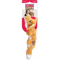 Peluche KONG chien SCRUNCH KNOTS renard