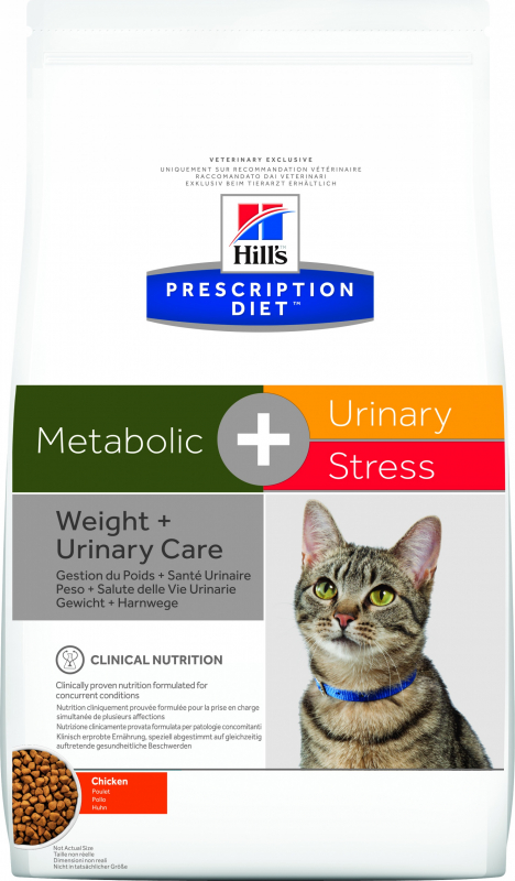 HILL'S Prescription Diet Metabolic + Urinary Stress pour chat adulte