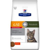 HILL'S Prescription Diet Feline c/d Urinary Stress + Metabolic pour chat adulte