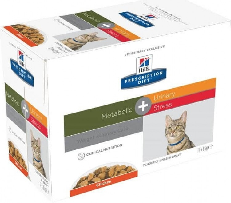 sachet fraîcheur HILL'S Prescription Diet Metabolic + Urinary Stress pour chat adulte