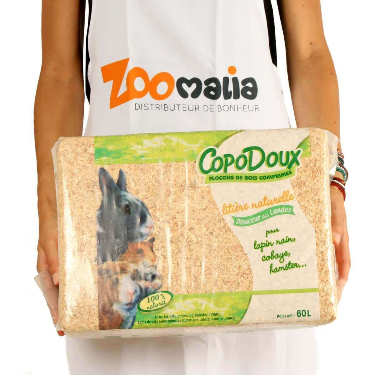 Copeaux sans poussière Copodoux 1 à 20kg_5