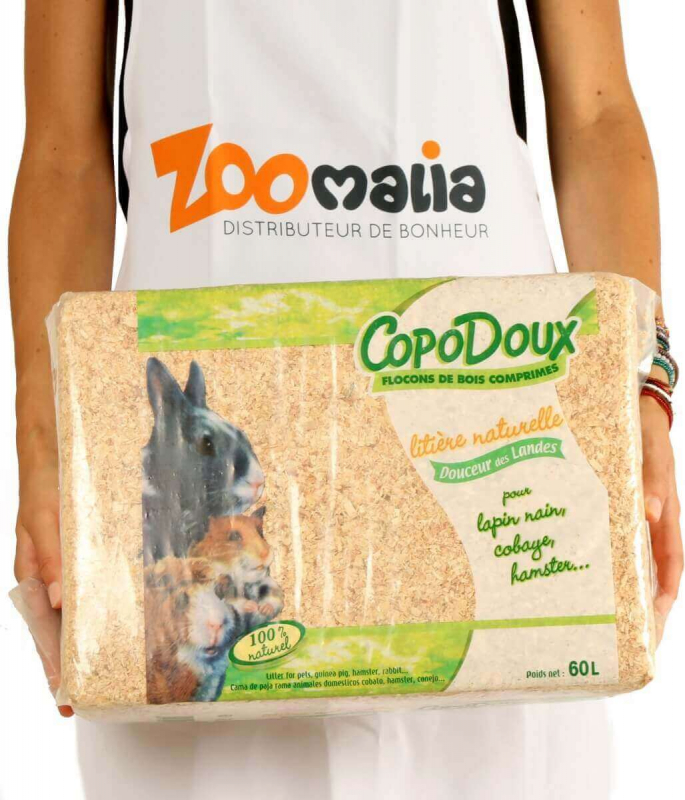 Copos sin polvo Copodoux 1 a 20 kg