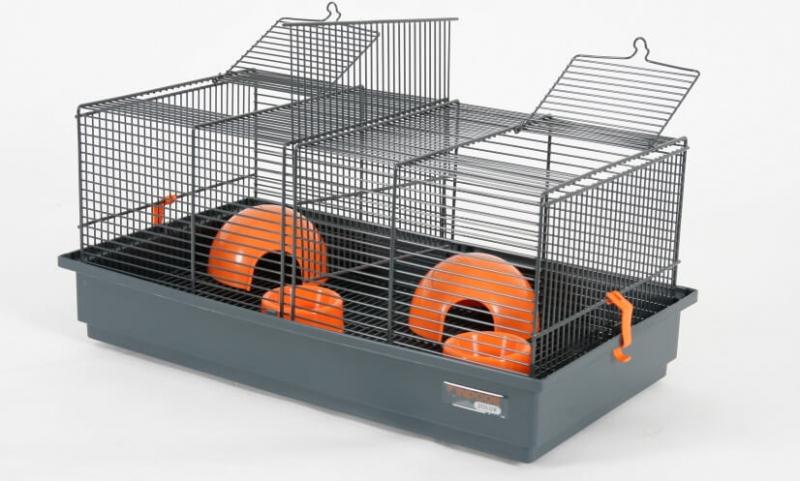 k fig indoor 50cm f r hamster und m use in grau orange. Black Bedroom Furniture Sets. Home Design Ideas