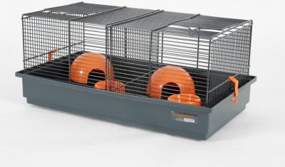 Cage Indoor 50 cm pour souris hamster orange grise