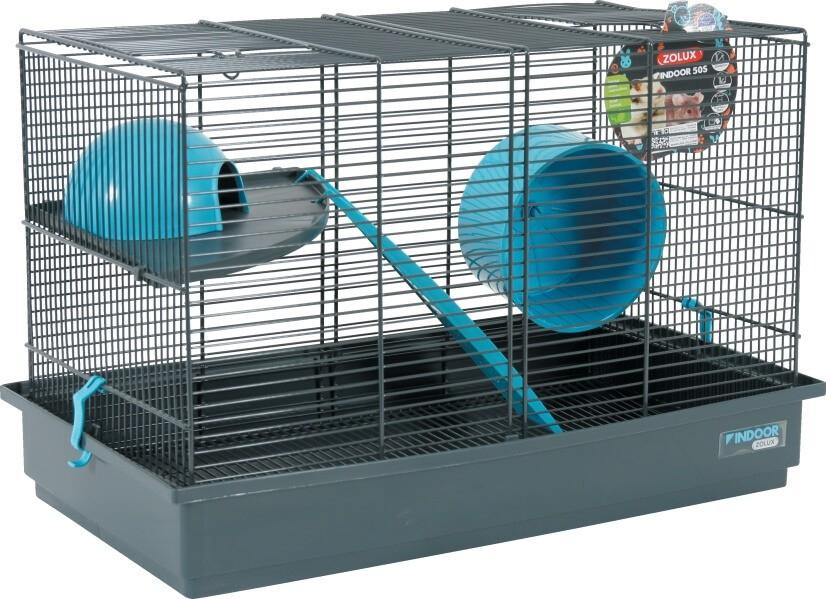 k fig indoor 50 cm f r degus m use und hamster in blau grau m usek fige. Black Bedroom Furniture Sets. Home Design Ideas