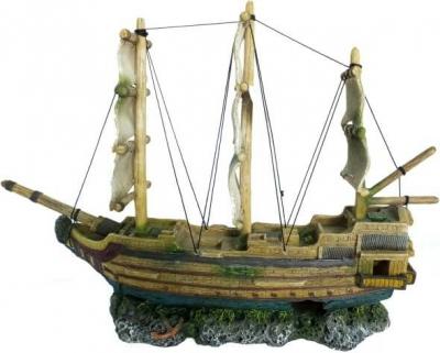 Décor AQUA DELLA Épave GHOST-SHIP 2 50x12,5x37cm