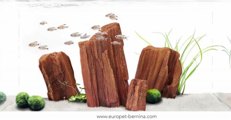 Décor AQUA DELLA CANYON ROCK -3 15x6x19cm