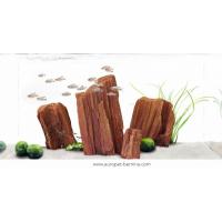 Décor AQUA DELLA CANYON ROCK -4 6,5x4,5x10cm