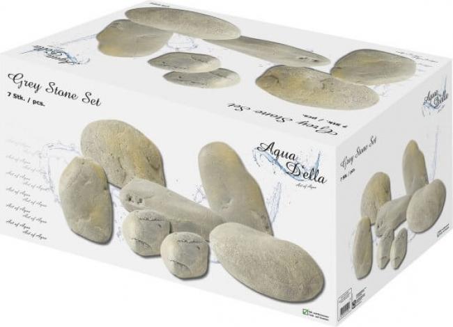 Décor AQUA DELLA GREY-STONE SET 7 pieces mixed in gift-box