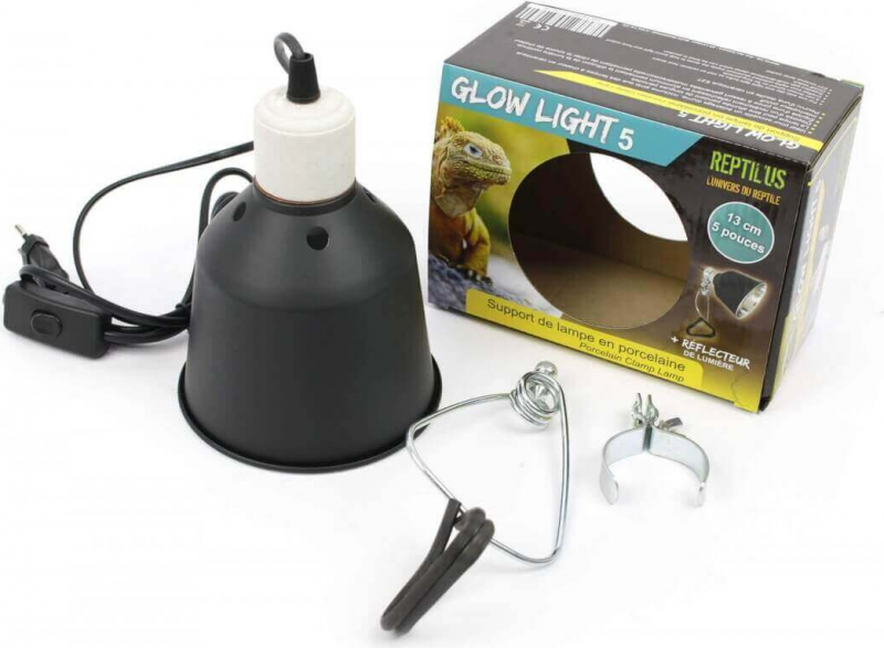 Support de lampe en Céramique Reptilus Glow Light