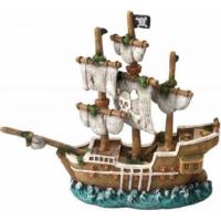 Decoración pecio AQUA DELLA SAILOR SHIP -1- ca.21x7x18cm