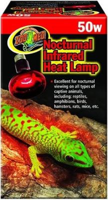 Lampe chauffante infrarouge nocturne