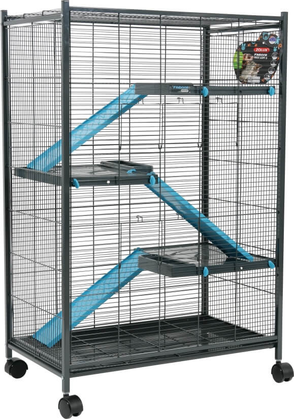 cage indoor laxi loft 2 bleu pour rat et furet cage rat. Black Bedroom Furniture Sets. Home Design Ideas